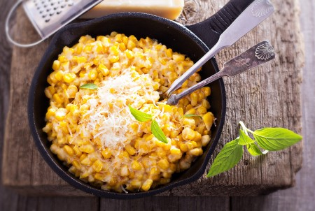 Roasted Corn on the Cob feat. Parmesan Cheese